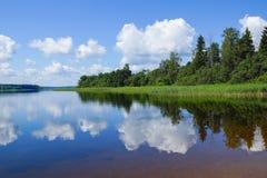 Lake Seliger. Royalty Free Stock Image
