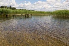 Lake Seliger. Royalty Free Stock Photo