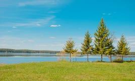 On Lake Seliger Stock Photo