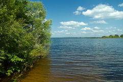 Lake Seliger landscape Royalty Free Stock Photo