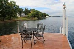 Lake Seneca. The landscape of Seneca lake stock images