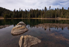 Lake in  Sequoia National Park Stock Images