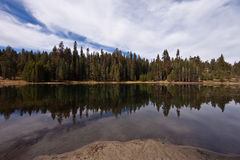 Lake in  Sequoia National Park Royalty Free Stock Photography