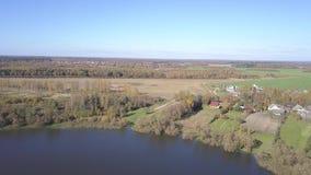 Lake Serokotnya. Road, field and forest.