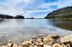 Lake in Serra da Estrela Stock Photography