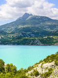 Lake of Serre-Poncon (French Alps) Stock Photography