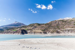 Lake Serre-Poncon, Hautes-Alpes, France Royalty Free Stock Photography