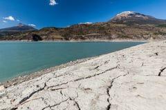 Lake Serre-Poncon, Hautes-Alpes, France Stock Photography