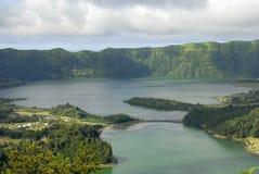 Lake of Sete Cidades royalty free stock photo