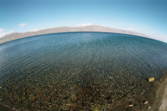 Lake Sevan. Royalty Free Stock Photo