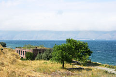 Lake Sevan in Armenia Royalty Free Stock Photography