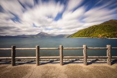 Lake Shikotsu, Japan Royalty Free Stock Photo