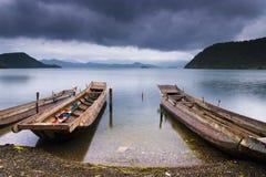 Lake and ship Royalty Free Stock Photo