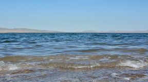 Lake Shira in the Republic of Khakassia stock photos