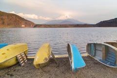 Lake Shoji and mountain Fuji. At Japan Stock Photography