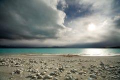 lake shore Fotografia Stock