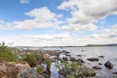 Lake shore Royalty Free Stock Photography