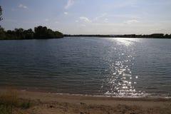 Lake shore Stock Image