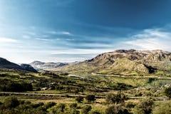 Lake on Sicily (Italy) Royalty Free Stock Image