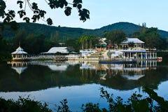 Lake Side Resort Royalty Free Stock Photo