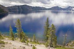A lake side view Stock Photos