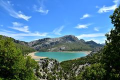 Lake In The Sierra De Tramuntana. Spain Royalty Free Stock Photography