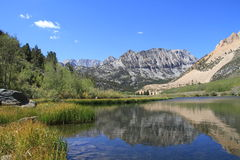 USA, California/Sierra Nevada: Lake  Royalty Free Stock Photography