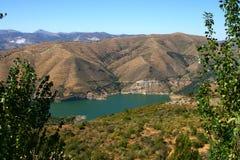 Lake in Sierra Nevada, Spain. Blue lake Sierra Nevada Mountains, near Granada Royalty Free Stock Photography