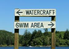 Lake Signs Stock Photos