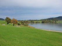 Lake Sihlsee Stock Images