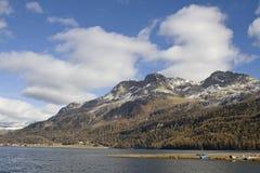 Lake Silvaplana Royalty Free Stock Photos