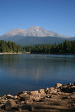 Lake Siskyou and Mount Shasta Stock Photos