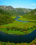 Lake Skadar. Montenegro Lake Skadar nature wild beauty Stock Photo