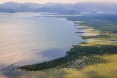 lake skadar montenegro royaltyfri foto