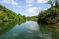 Lake Skadar national park Royalty Free Stock Image