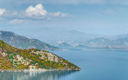 Lake Skadar. Power of nature , montenegro river and lake skadar Stock Images