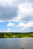 lake and sky Royalty Free Stock Image