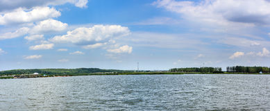 lake and sky stock photography