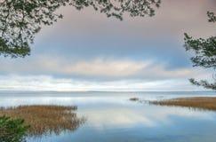 Lake and sky Royalty Free Stock Photo