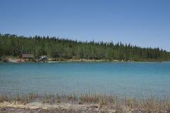 Lake Sky Reflections stock photo