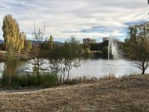 The Lake stock photo