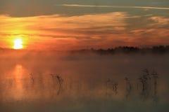 The lake Sobachye, Republic of Khakassia, Russia Stock Images