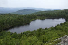 Lake Solitude, south side of Mt. Sunapee, New Hampshire. Royalty Free Stock Photos