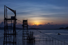 Lake Songkhla, Thailand. Royalty Free Stock Photography