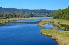 Lake south bohemia Royalty Free Stock Photos