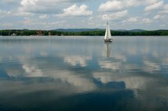Lake of the Southern Ural. Stock Photography