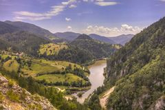 Lake Spaic, serbia Royalty Free Stock Image