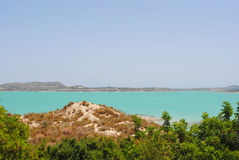 Lake in Spain Royalty Free Stock Photography