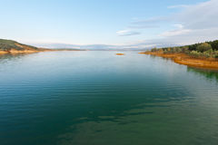 Lake in Spain Stock Photography