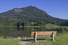 Lake Spitzingsee Stock Images